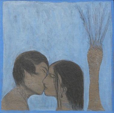 CUOR di palma cm 30x30 - 2010