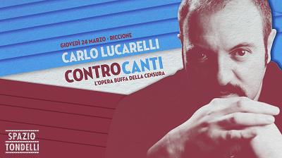 Carlo Lucarelli in Riccione ControCanti
