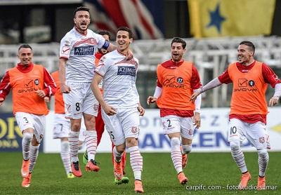 Carpi festaggia il successo a Verona