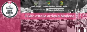 Il Giro d'Italia arriva a Modena
