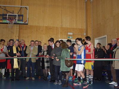 Inaugurazione della nuova palestra e palazzina del Galilei a Mirandola (MO)