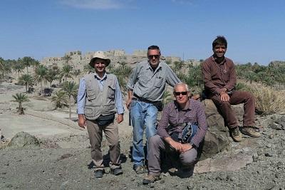 La squadra di lavoro con al Centro il Prof. Saccani