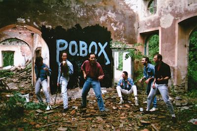 P.O,BOX fotografati a Villa Carenzi