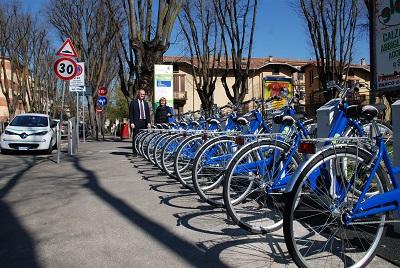 Parma, Bike Sharing terminati i lavori per l'installazione di tre nuove postazioni