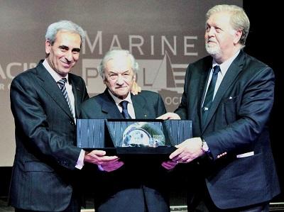 UIM Awards da sinistra Chiulli - Molinari - Casiraghi