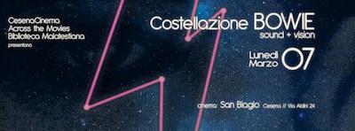 costellazione Bowie a Cesena