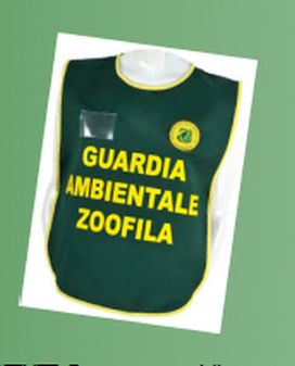 divisa guardia ambientale zoofila