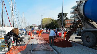 Rimini pista ciclabile