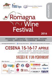 Il passaporto sarà la novità in Romagna Wine Festival dal 15 al 17 aprile