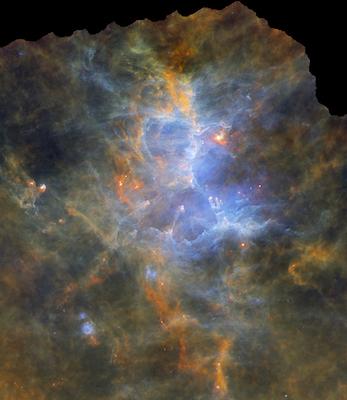 Pubblicata la prima mappa dell'intero piano della nostra galassia nel lontano infrarosso