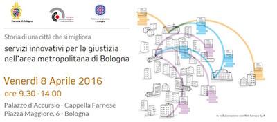 Servizi innovativi per la giustizia nell'area metropolitana di Bologna
