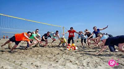 beach volley a Riccione