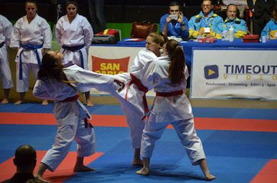 karate azione