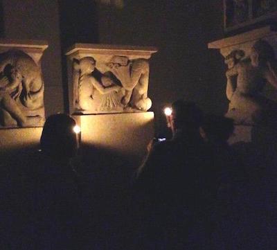 migliori fotografa le metope del duomo a lume di candela