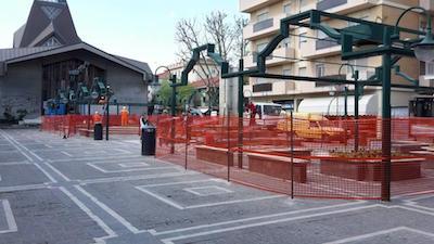 qualificazione di piazze e spazi urbani