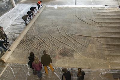 rilievi sull'antica tela di Coghetti