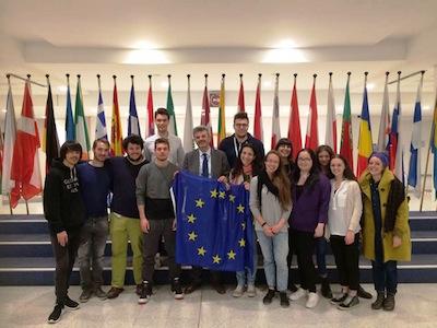 studenti a Bruxelles 1