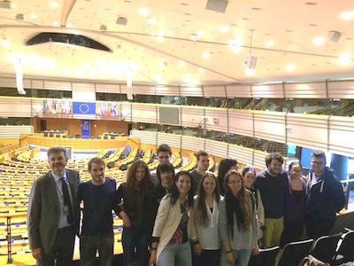 studenti a Bruxelles