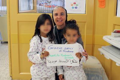 suor donatella ringraziamenti dal Caritas Baby Hospital di Betlemme PIXEL