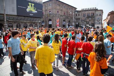 2016 05 07 Paci Flash Mob Educare alle differenze a scuola