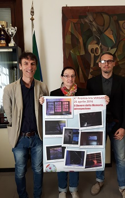 Foto premiazione Iris Versari