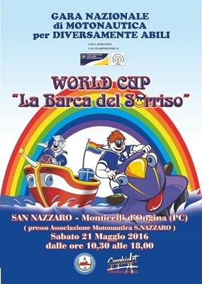 LOCANDINA world Cup LA BARCA DEL SORRISO