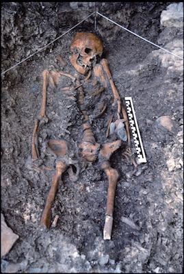 La sepoltura dell'Uomo di Villabruna