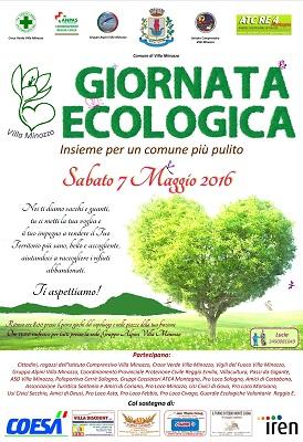 Locandina giornata ecologica
