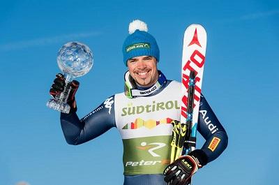 Peter Fill campione di sci alpino premiato