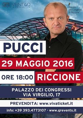 Pucci 29 maggio a Riccione