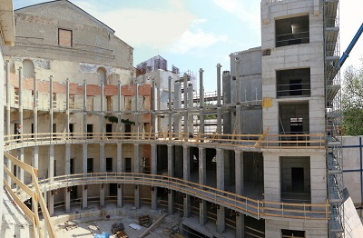 Rimini, Teatro Galli - in arrivo la copertura della struttura