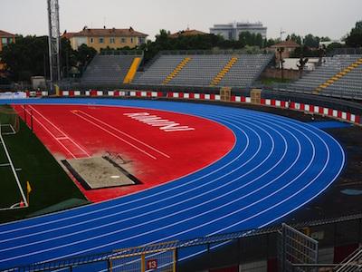 Rimini rinnovato impianto di atletica