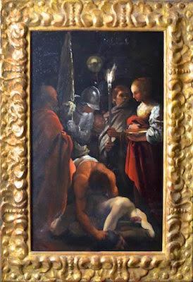 Un quadro della collezione del Prof. Croce