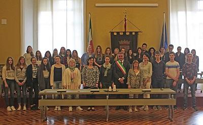 delegazione Studenti tedeschi mag 2016