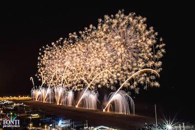 fuochi d'artificio a Riccione