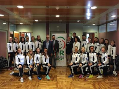 premiati i campioni italiani ed europei del Precision Team