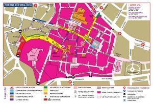 Cesena in Fiera 2016 - mappa