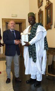Delegazione Camerun in Municipio