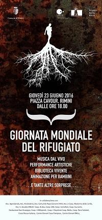 Giornata del rifugiato il 23 giugno a Rimini
