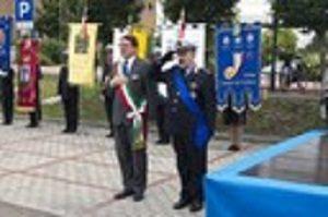Il sindaco Muzzarelli e il comadante Chiari