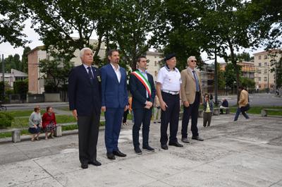 Parma, presentato il Monumento al Marinaio