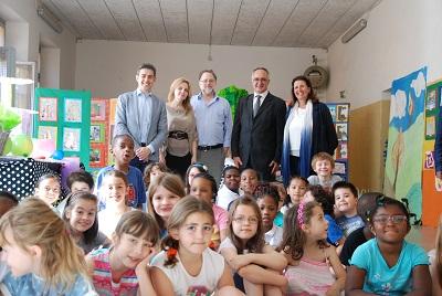Parma, scuola per l'Europa, inaugurata la mostra