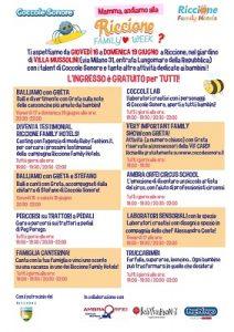 Riccione Family Week programma_Coccole Sonore