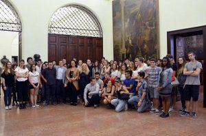 Studenti in Sala Consiglio - Parma