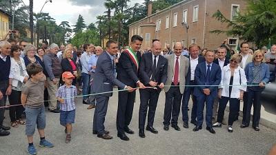 inaugurazione parco dell'osservanza imola