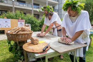 preparazione pane come i romani - ph gibo urbinati