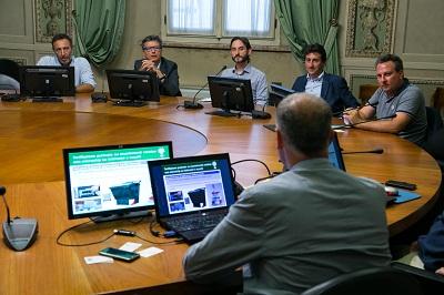2016 07 27 Folli delegazione Milano per modello rifiuti-2
