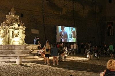 Cinema_20 luglio Piazza del Popolo, Credit Pippofoto