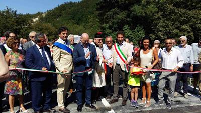Armorano inaugurazione del ponte