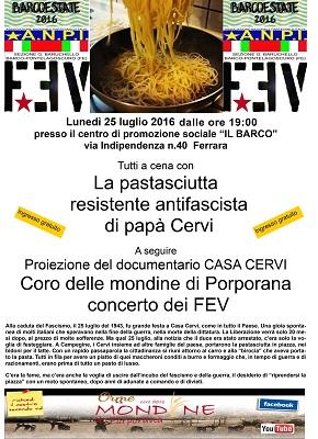 Pastasciutta resistente - Barco Estate 2016